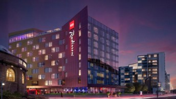 A Colour Changing Hotel is Planned for Glasgow!