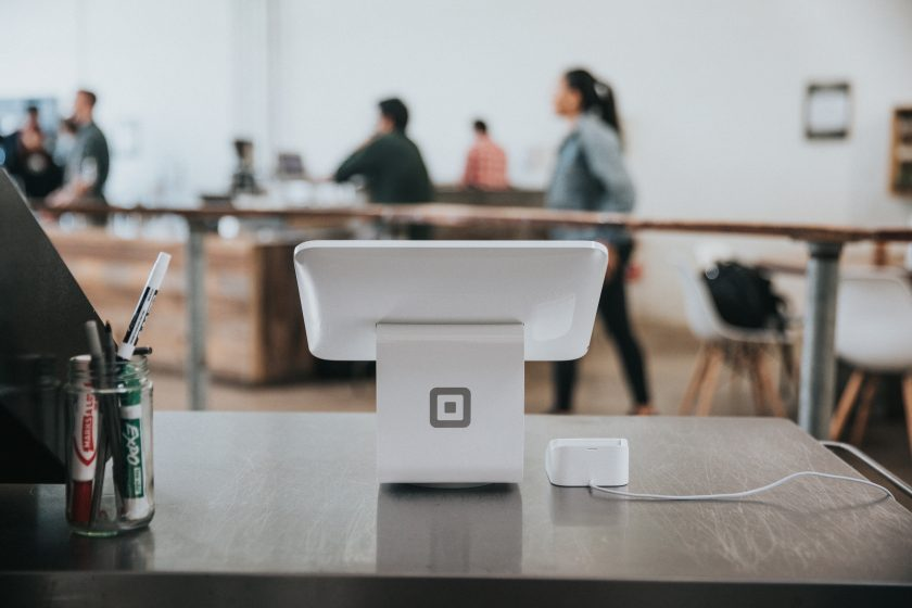 iPad on shop counter. Photo by Nathan Dumlao on Unsplash