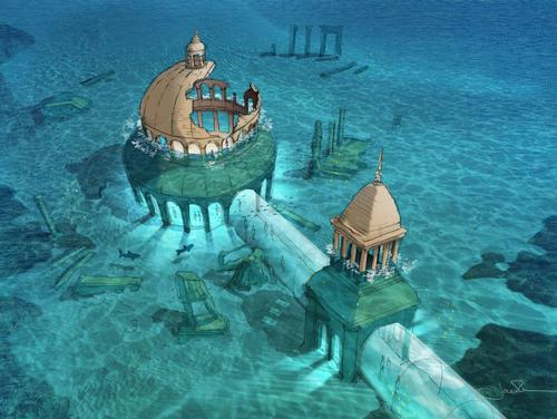 Plans for an Underwater Studio for the 2022 World Cup Have been Revealed