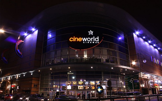 Cineworld cinema exterior