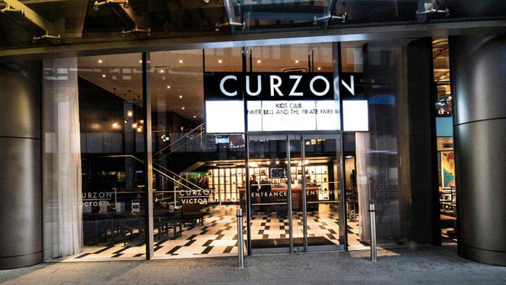 Curzon Cinema foyer from outside