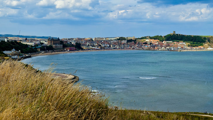 Scarborough's South Bay from Cliff Street