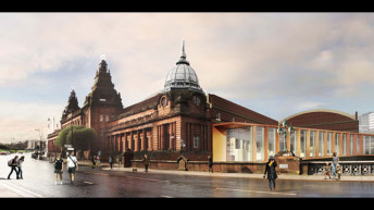 Glasgow's Kelvin Hall gets moving with gym & archive