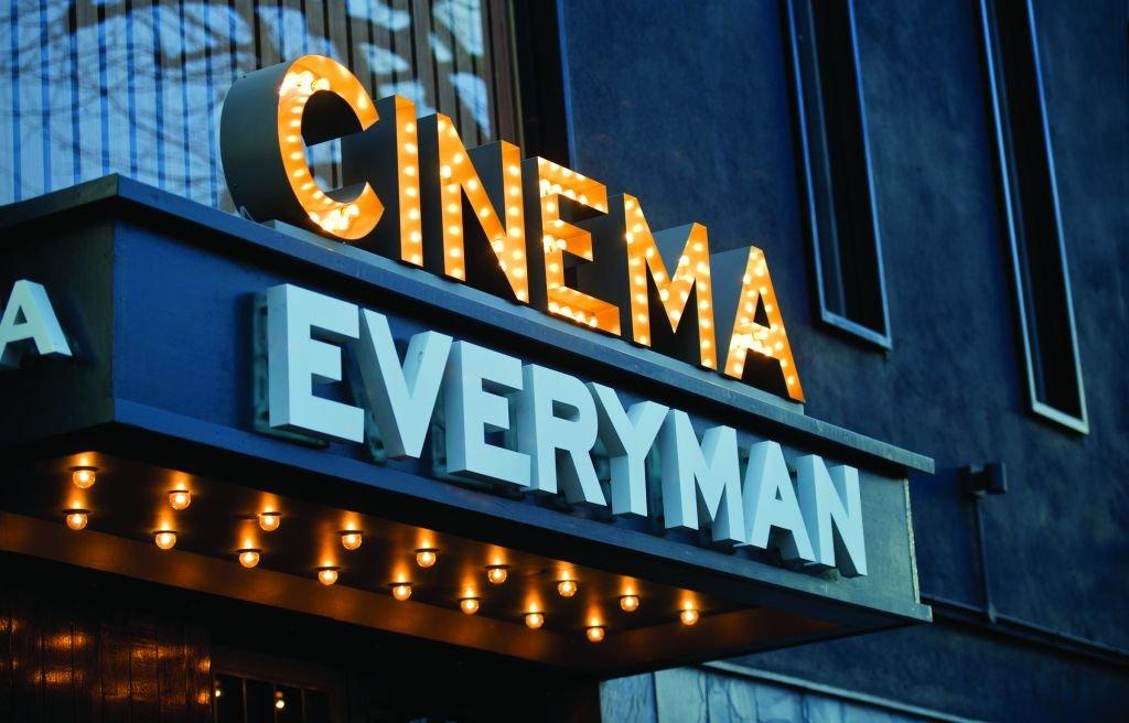 Everyman Cinema hoarding