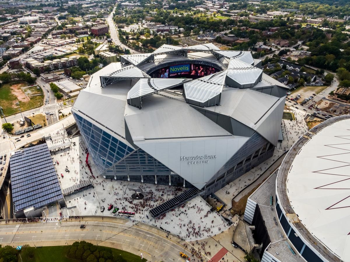 Video: Mercedes-Benz Stadium rated most sustainable in the ...