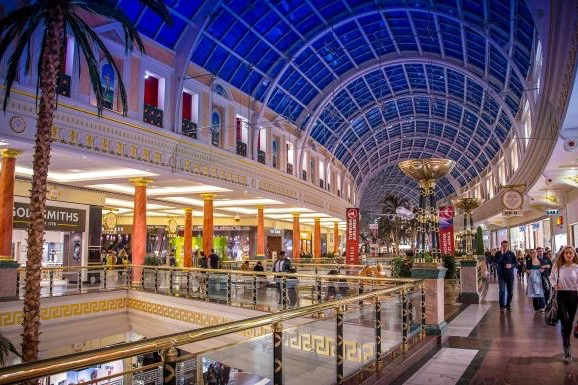 Intu is the owner of retail malls including the Trafford Centre in Manchester. Photo by INTU