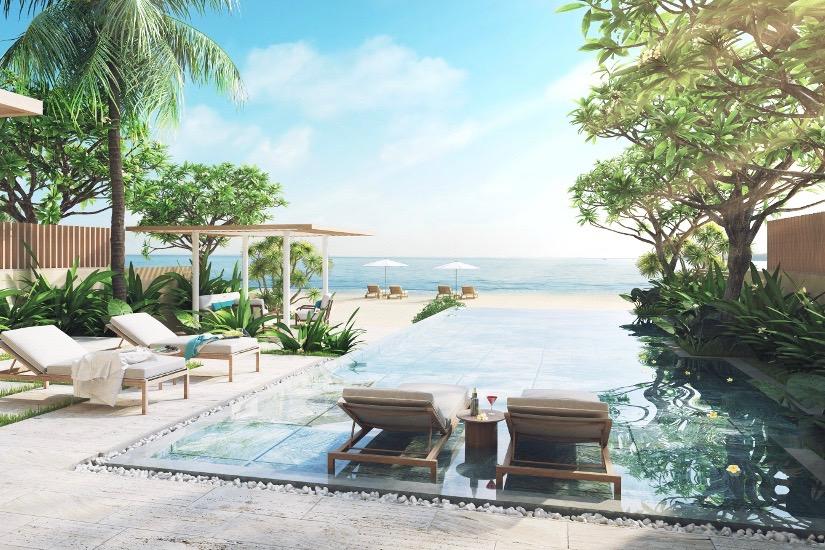 Beachfront villas at Melia Ho Tram at the Hamptons resort start at $790,000