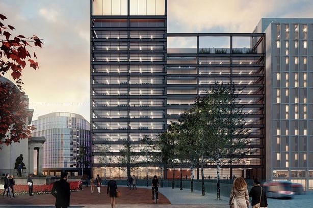 One Centenary Way is due for completion in 2022 and will have a 440-space cycle hub