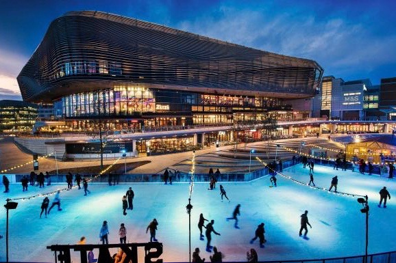 A deal between Intu and Hammerson, which owns West Quay ice rink in Southampton, collapsed last week GILES ROCHOLL
