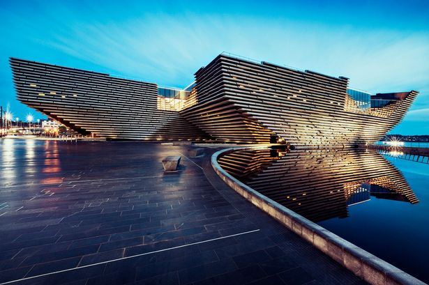 The Dundee Waterfront development was one of nine projects involved in the first investment portfolio for Scotland