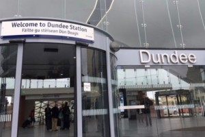 new Dundee Railway Station