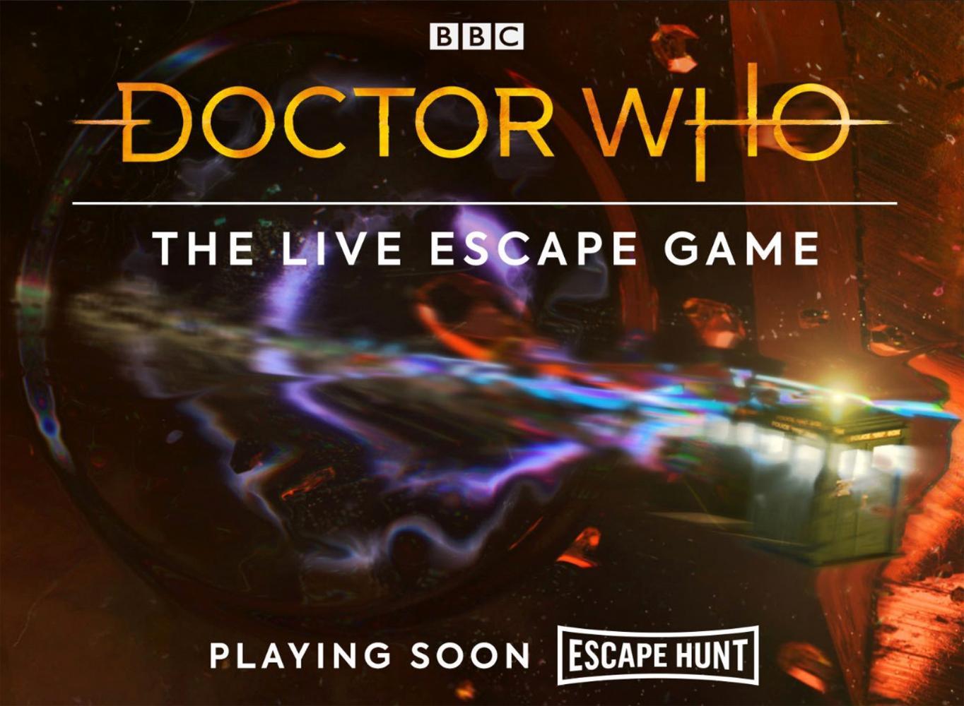 Doctor Who Escape Game artwork