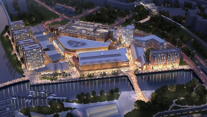 £100m investment proposal for mixed-use development at Glasgow Harbour