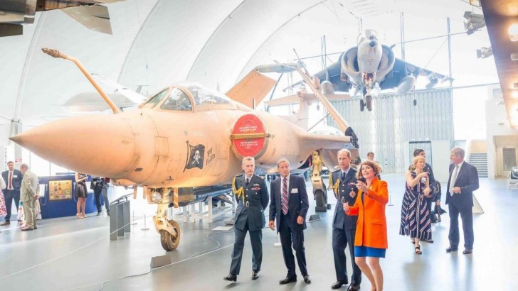 RAF museum relaunches following major £26m redevelopment