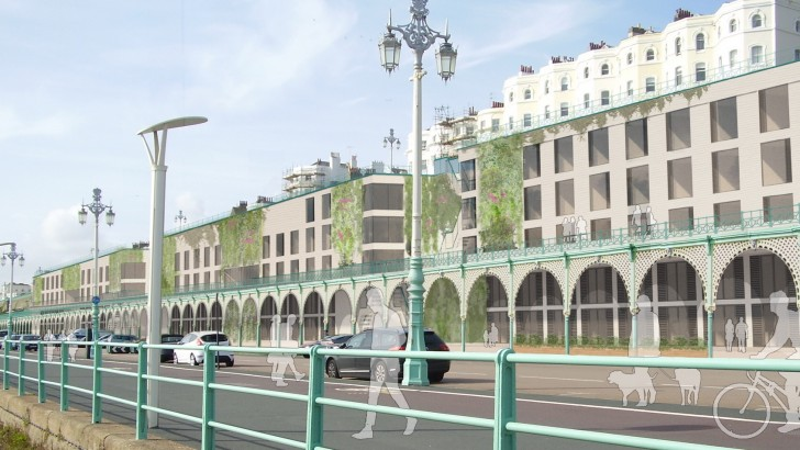 Big leisure plans for Brighton's iconic Madeira Terrace