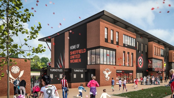 UK's first women's football stadium for Sheffield