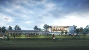 University of Stirling sporting complex Image copyright UNIVERSITY OF STIRLING