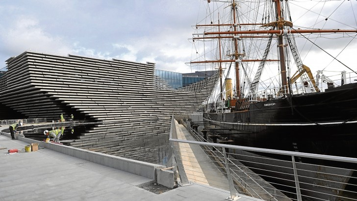 V&A Gallery transforms Dundee into a boom town