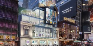 Two historic Times Square theatres get ready for the spotlight again