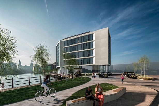 First image: new cruise liner terminal hotel for Liverpool's waterfront