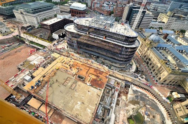 Birmingham Paradise development costs spiral by £100M