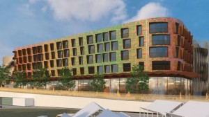 Homes, offices and shops will be built on the St Davids car park site, opposite the planned arena
