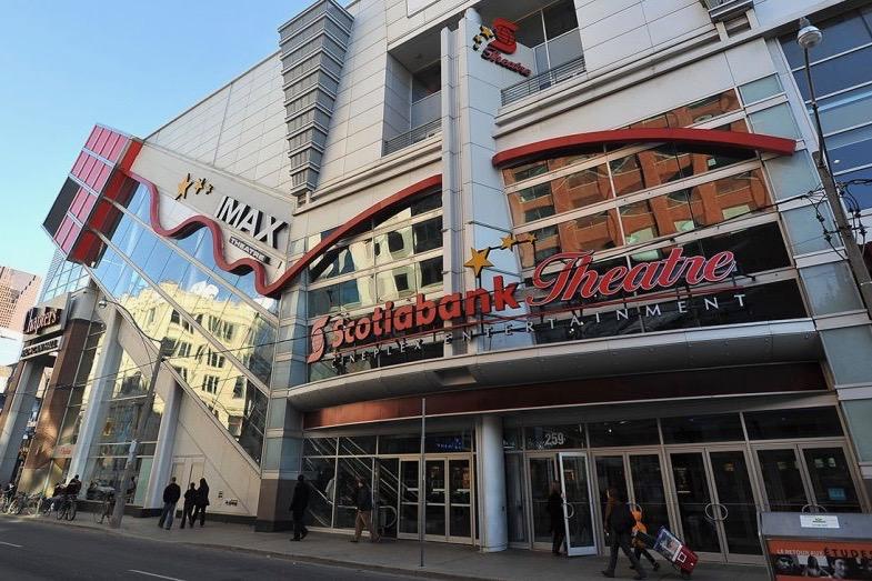 Cineplex cinema facade