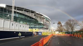 New Tottenham stadium: construction latest