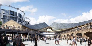 London: Coal Drops Yard – construction time lapse video