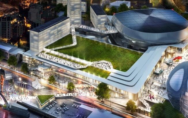 Design for Gateshead Quays leisure complex unveiled