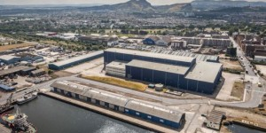 "Port of Leith site for major film studio in a ""big blue shed"""