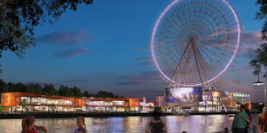 Big wheel to 'sell' Newcastle at international property show