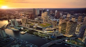 Water Street Tampa aerial view
