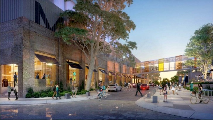 "A$142m mall facelift to ""celebrate the food and art culture"" of Sydney's inner west"