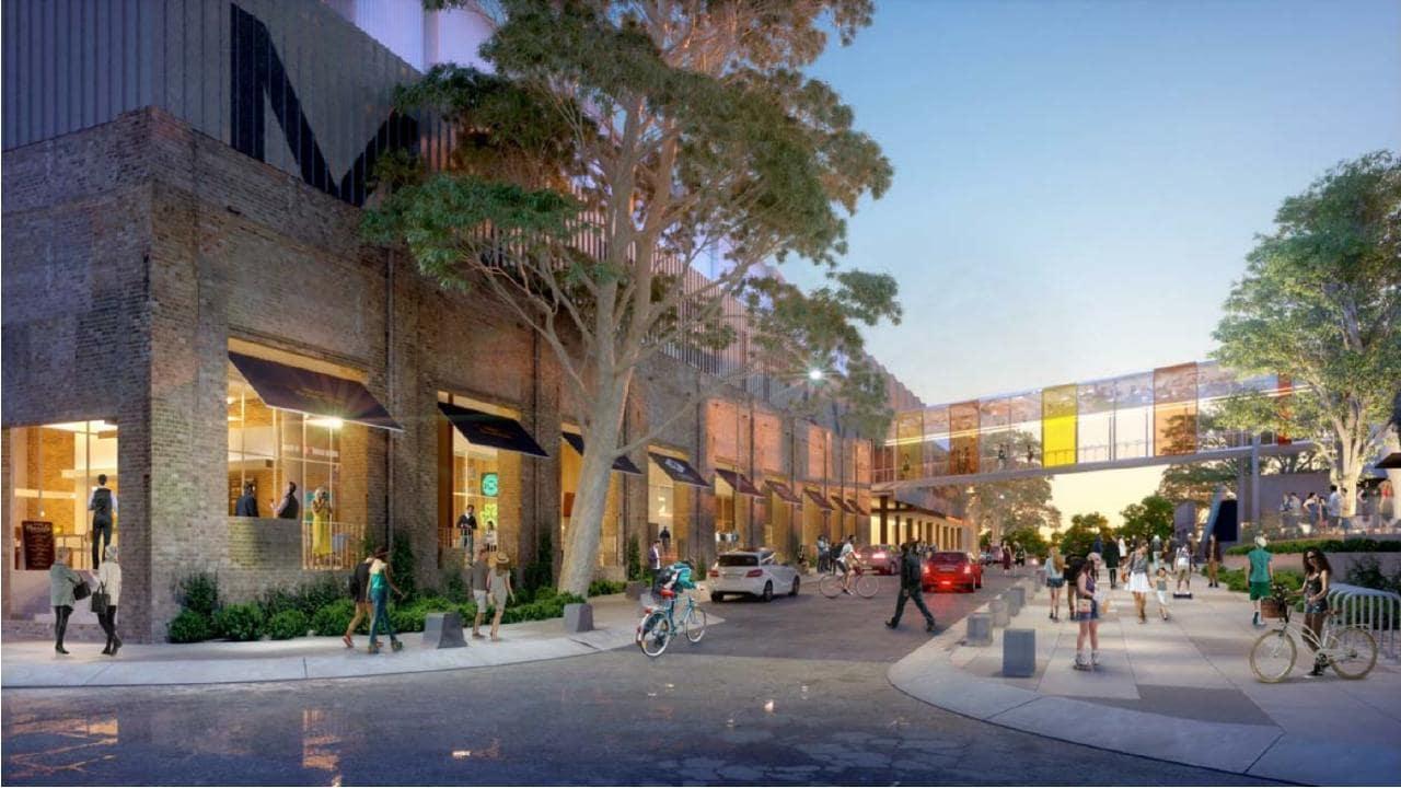 Marrickville Metro planned development artist impression