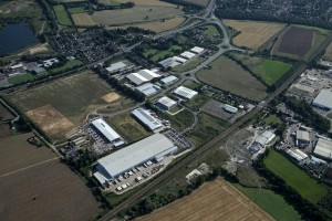 Aerial view of Meltonwest and Melton Park