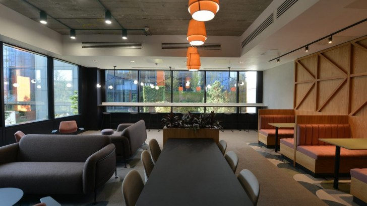 Salford: newly-refurbished offices, co-working space and leisure facilities revealed