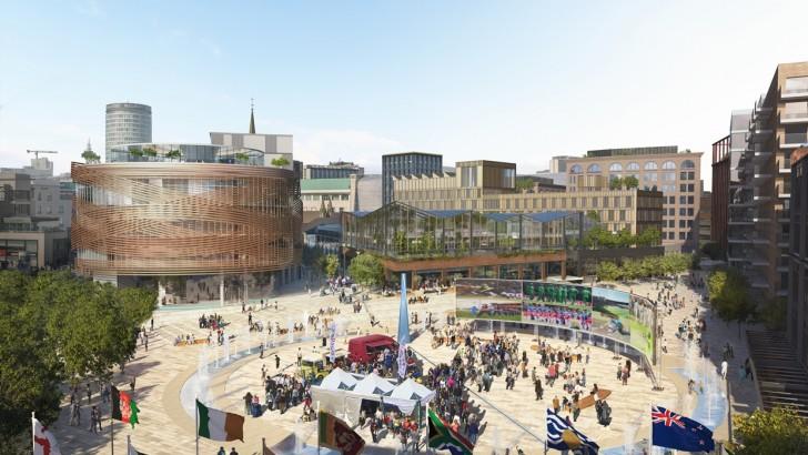 Birmingham: developer appointed to £1.5bn Smithfield scheme
