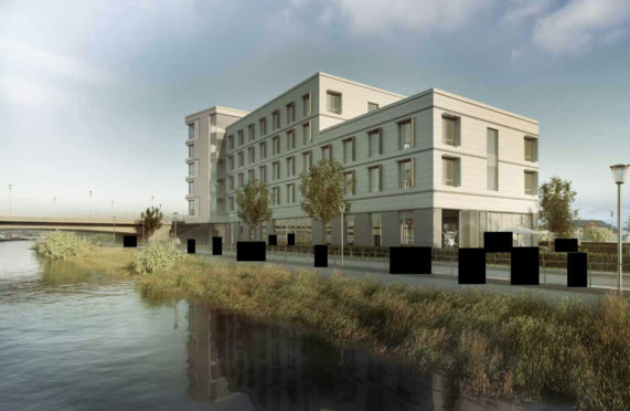 Inverness: rejected city centre hotel plans may win permission