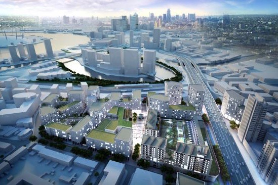 London: £600m development to deliver new town centre for Canning Town