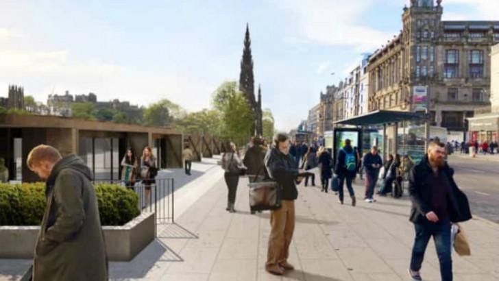 Farmers' market and cinema planned for Edinburgh city centre