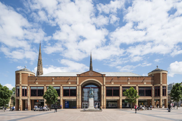 Retail revamp of Coventry's 'least favourite building' attracts record numbers