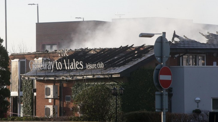 Flintshire: hopes raised for new hotel on site of burnt Gateway to Wales