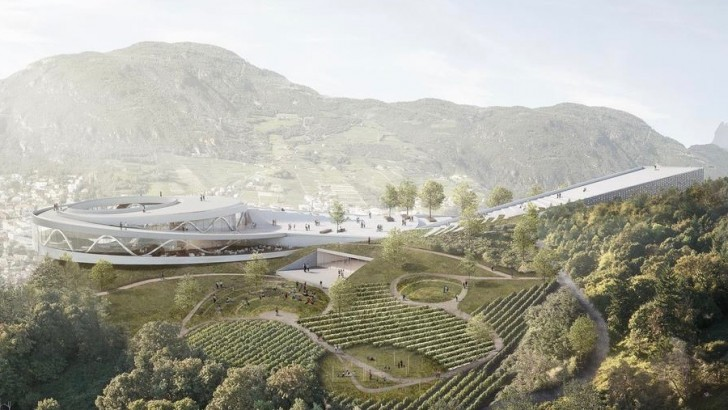 Italy: stunning clifftop cultural museum planned for South Tyrol