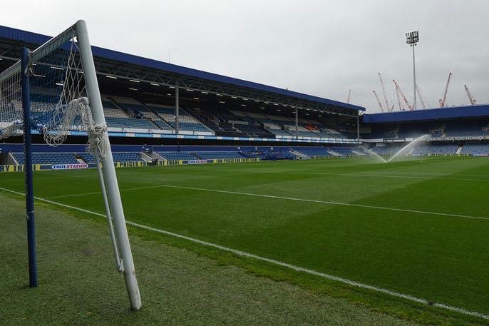 A general view as the Loftus Road pitch – QPR