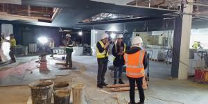 Greenwich: London's largest cinema, under construction