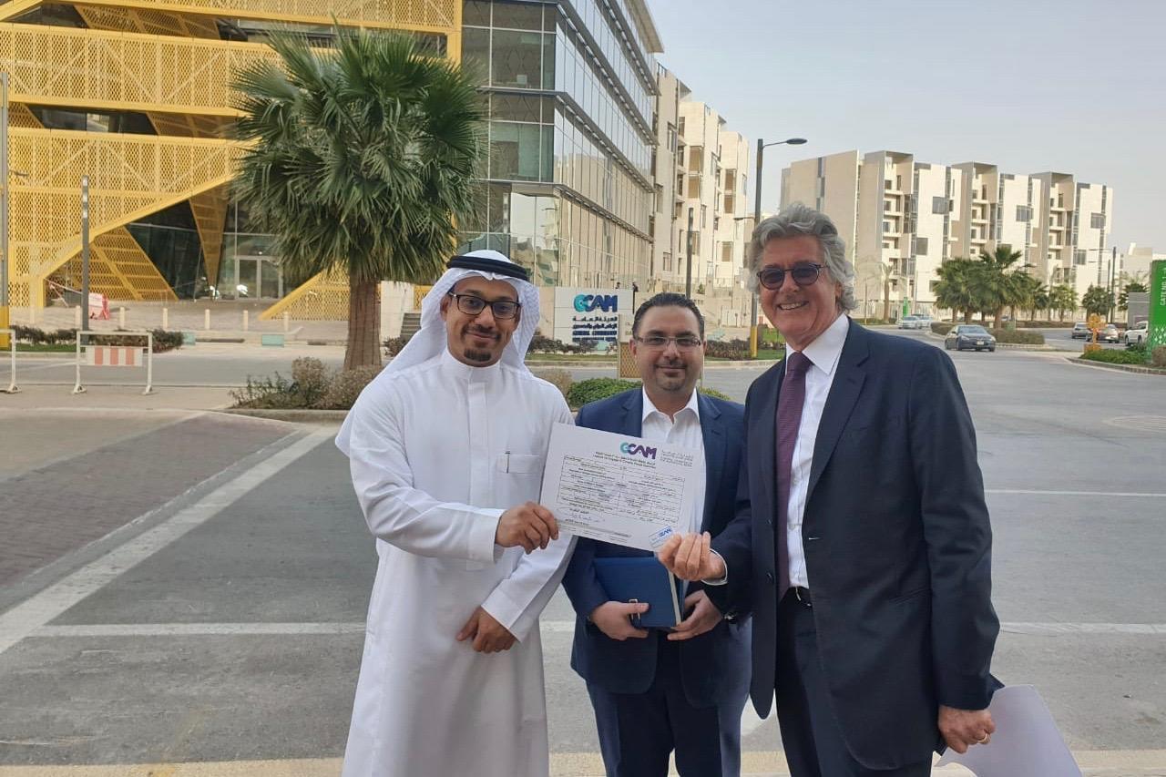 JS holds KSA licence