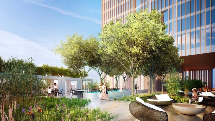 Manhattan Loft Gardens, sprawling hotel complex planned for East London
