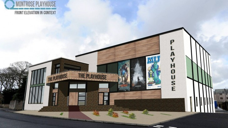 Scotland: swimming pool takes centre stage in cinema vision
