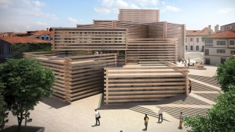 Turkey: wood market-inspired museum on track for summer opening